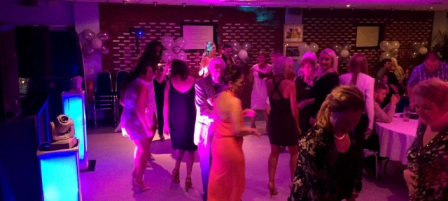 A dance hosted at the Wychbury Room venue